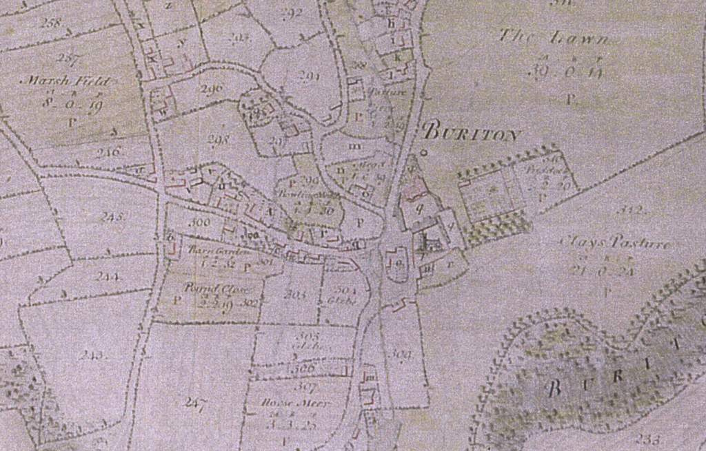 Stawell map of 1793